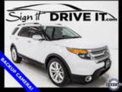 2014 Ford Explorer XLT - BACKUP CAMERA! BLUETOOTH! LEATHER! 3RD ROW SEAT