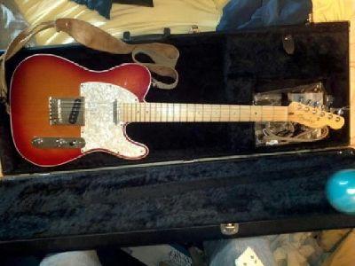 $1,200 OBO Fender American Deluxe Telecaster Sunburst
