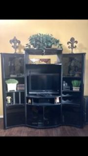 Free Sony 32 TV with purchase of Entertainment Center