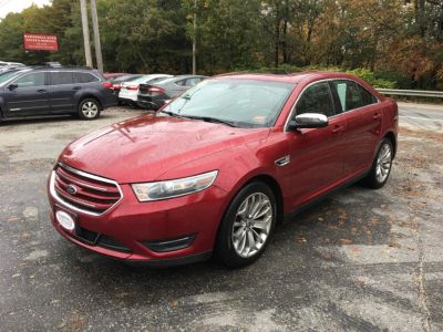 2013 Ford Taurus Limited (Red)