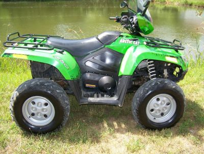 2011 Arctic Cat 550 PS EFI WITH WINDSHIELD Utility ATVs West Plains, MO