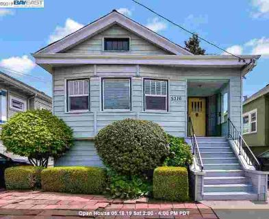 5316 Miles Ave OAKLAND Three BR, Opportunity Awaits!