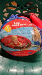 Baby spring float excellent condition