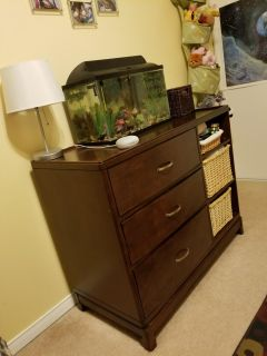 Solid wood Diaper table $225