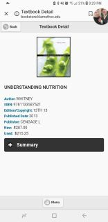 Iso nutrition book!