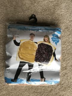 Peanut Butter and Jelly Costume