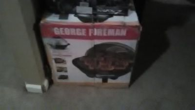 George Forman indoor/outdoor grill
