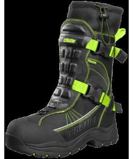 Find Castle Men's Barrier 2 Hi-Vis/Black Waterproof Insulated Snowmobile Riding Boot motorcycle in Golden, Colorado, United States, for US $179.99