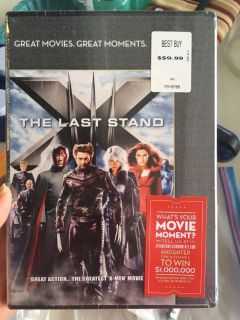 X-men The last stand dvd