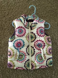 Puffer vest girls toddler