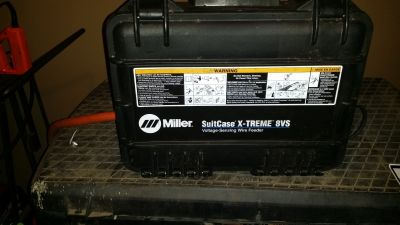 Miller extreme 8vs wire feeder. like new