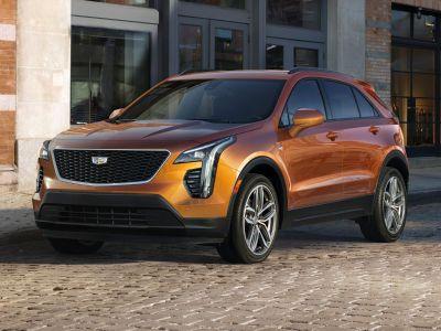 2019 Cadillac XT4 Premium Luxury (Orange)