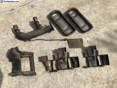 Bus Type 4 engine tin and exhaust J pipe, 2L