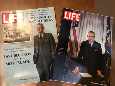 Vintage 1960s Magazines: Life with LBJ & Life as Connelly Reflects