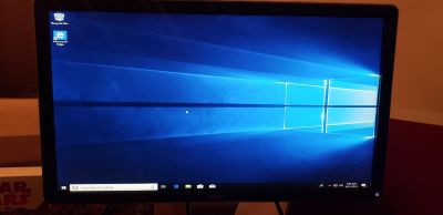 Computer with monitor. Windows 10