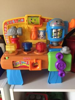 Fisher Price Tool Bench Toy