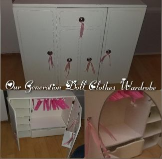 Our Generation Doll Clothes Wardrobe