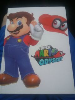 Mario odyssey official guide