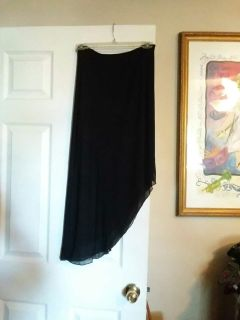 Just in time for the Holidays Dressy Black Long SKIRT