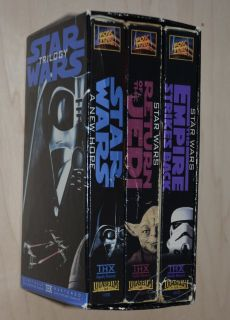 Star war vhs movies