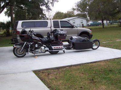 2000 N line pull behind motorcycle trailer