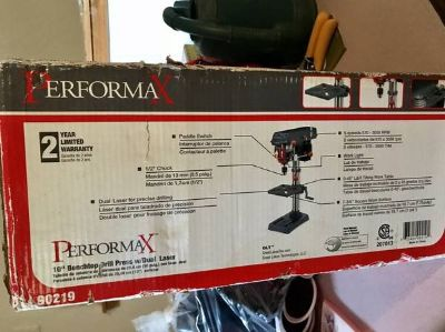 NEW BENCHTOP DRILL PRESS WITH DUAL LASER