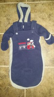 #1 New sleep and play suit with bag 3-6m