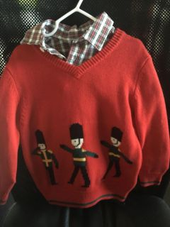New with tags Christmas sweater set