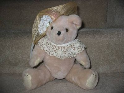 Victorian-style stuffed Teddy Bear