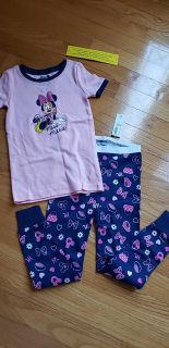 Brand New Minnie Mouse Pajamas - Old Navy Size 4T