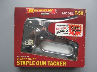 New Arrow Heavy Duty Staple Gun T-50
