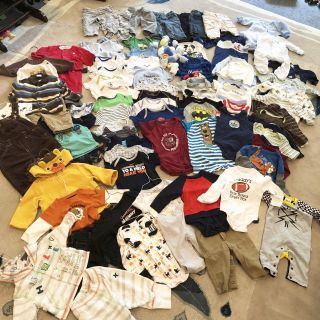 Bundle of 80+ 3-6 month items!