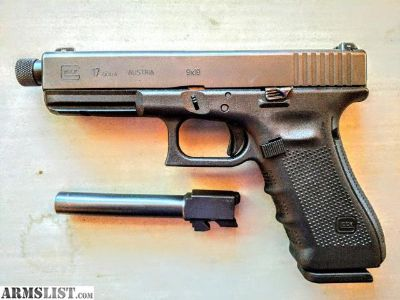 For Sale: Gen4 Glock 17 with new threaded barrel