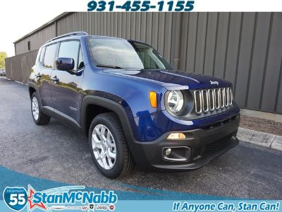 2018 Jeep Renegade Latitude (blue)