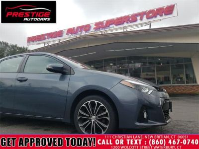 2016 Toyota Corolla S (Blue Crush Metallic)