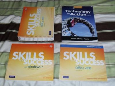 $65 College Computer Textbook Bundle