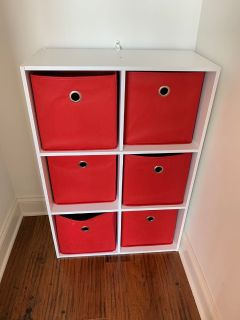 6 drawer storage organizer