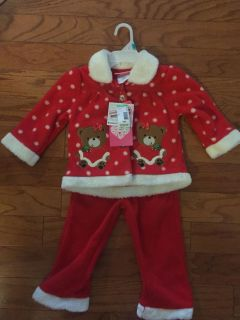 NEW 18 month Christmas Santa outfit
