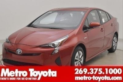 2018 Toyota Prius Four (Hypersonic_red)