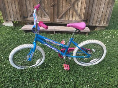 Girls 20 inch Bike Huffy Sea Star Has Good Tires, Seat And should be ready to ride.