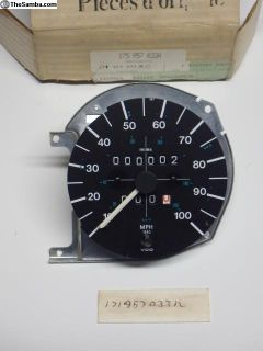 NOS 77-78 Rabbit Speedometer 175957033A