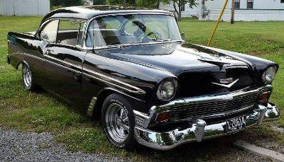 1956 Bel Air Hardtop Show Winner