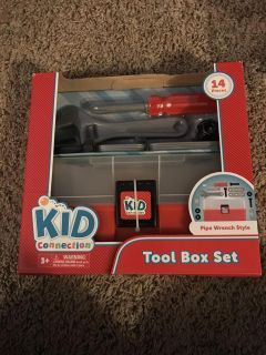 Pipe Wrench Tool Box Set