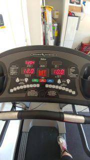 Vision Fitness T9200 Deluxe treadmill!