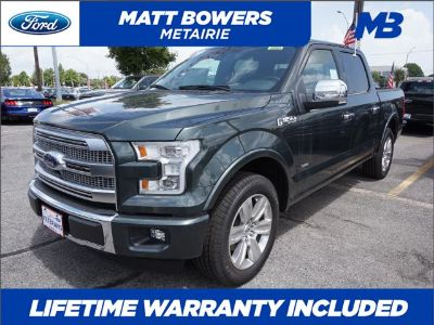 2015 Ford F-150 Platinum 2WD 5.5 Box (Guard Metallic)