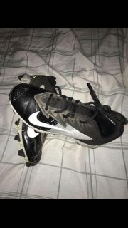 Boys Nike cleats size 3.5 youth (paid $70 last year)