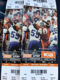 Tickets for UT Game tomorrow