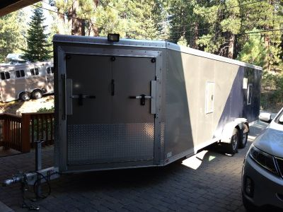 2012 FeatherLite 24 Foot Enclosed Trailer-Used Once!