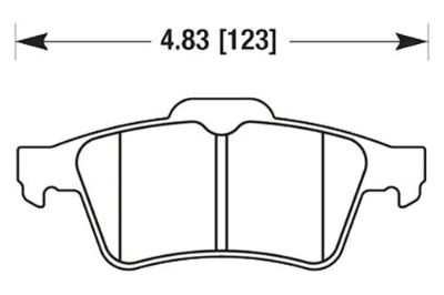 Sell HAWK HB478F.605 - 08-10 Chevy Cobalt Black Ferro-Carbon Rear Brake Pads motorcycle in Chino, California, US, for US $73.37