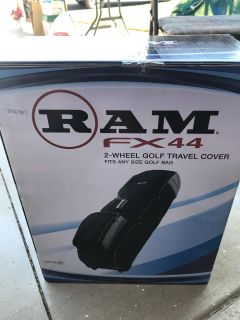 Golf bag travel covers